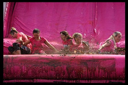 Cancer Research UK Race For Life Pretty Muddy