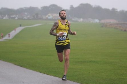 Nick Jordan was the fourth Bridlington Road Runner home in the Bridlington Half-Marathon