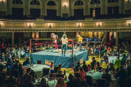 Megaslam Wrestling will be at the Spa on October 28. Photo: Chris Kirkham.