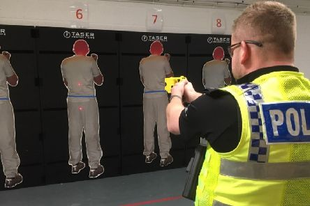 Tasers were used 442 times by Humberside Police officers during 2018.