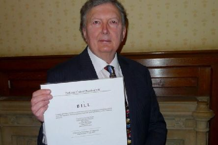 Sir Greg Knight has seen his Private Member's Bill make a change to the law.