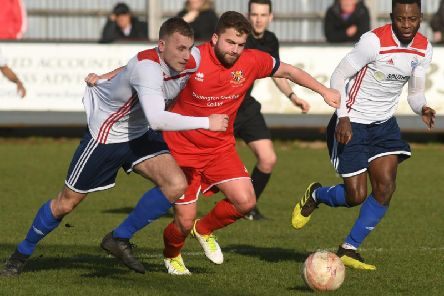 Andy Norfolk saw a first-half free-kick go narrowly over in Brid Town's 1-0 defeat at Barton
