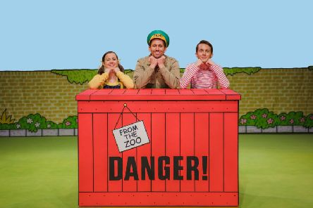 Dear Zoo, based on the children's book, comes to the stage
