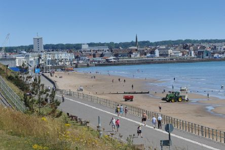 Bridlington seafront