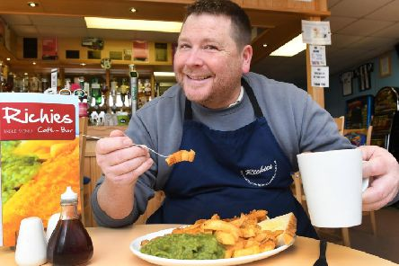 Richie Preston owns Richie's Cafe Bar in Bridlington