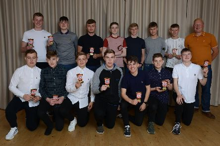 Burlington Jackdaws awards night - Photos by Paul Atkinson
