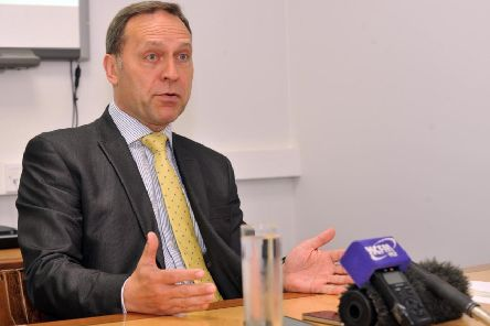 Humberside Police and Crime Commissioner Keith Hunter will pledge his support on Friday.