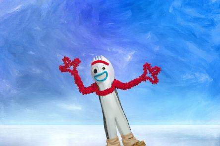 Forky, from Toy Story 4