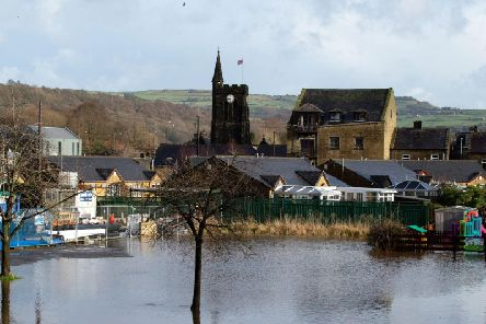 In Mytholmroyd, 500 homes and 400 businesses flooded after the downpour