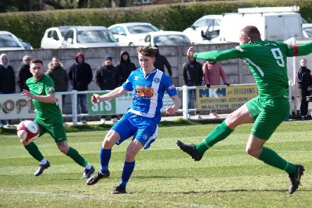 Aaron Martin scored his 22nd league goal of the season last weekend. PIC: Steven Ambler.