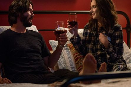Keanu Reeves and Winona Ryder star in Destination Wedding.