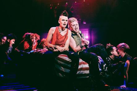 The musical American Idiot featuring the music of punk-pop band Green Day