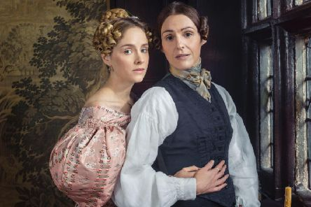 Ann Walker (Sophie Rundle) and Anne Lister (Suranne Jones). Picture: Lookout Point/HBO/Jay Brooks
