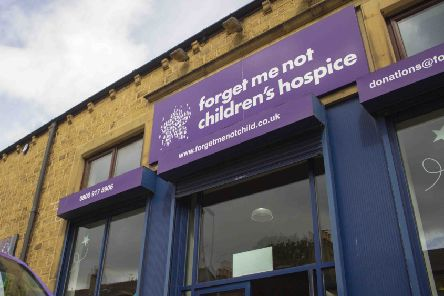 All the charity's 14 shops are taking part, including the one on Commercial Street in Brighouse.