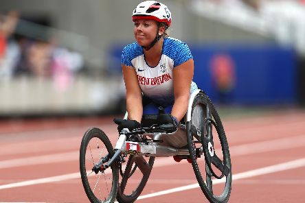 Hannah Cockroft. PIC: Jordan Mansfield/Getty Images.