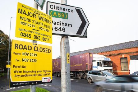 Part of Accrington Road is set to be closed for a year