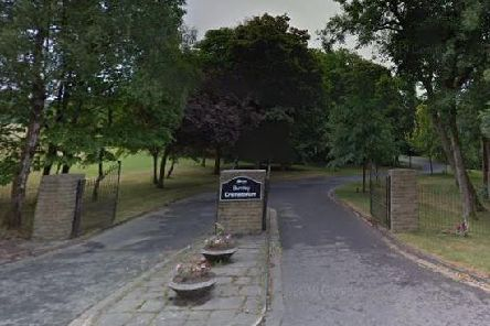Burnley Crematorium. Google Streetview