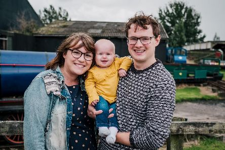 Rosie, Ben and Evie Strachan. Picture by Sarah-Glynn Photography