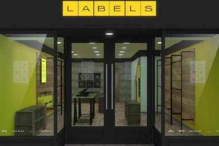 An artists impression of Labels