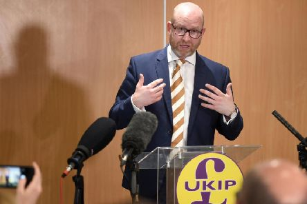 Paul Nuttall is the UKIP MEP for the North west