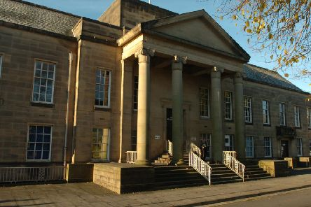 A convicted burglar from Burnley has been given a curfew by magistrates after police found him in the early hours of the morning with a knife, torch and scissors.