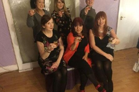 The cast of Ladies Who Lunch, which will be presented by Vagabonds theatre group this month. (s)