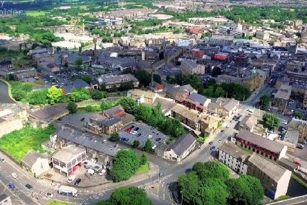 Burnley from the air