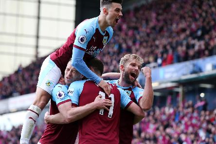 How many minutes Premier League has each Burnley played this season?