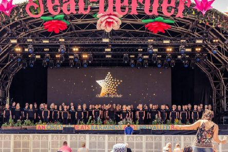 The Clitheroe Pop Choir will be giving its biggest performance of the year at this summers Beat-Herder festival in the Ribble Valley. (s)