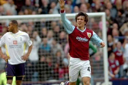 Jack Cork in the 2009/10 home strip