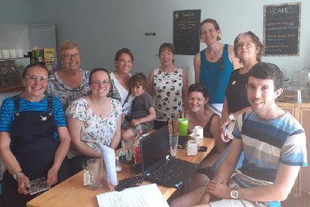 Residents and members of Acclimatise Whaley met at the Little Fika Cafe in Whaley Bridge to discuss joining the national biodiversity movement.