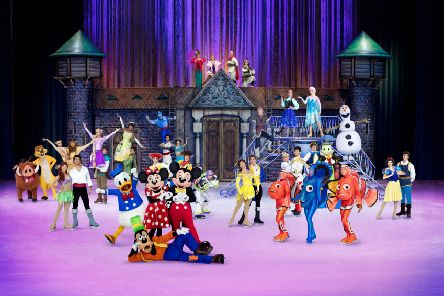 Disney on Ice On  celebrates 100 Years of Magic