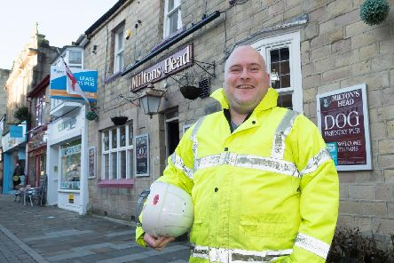 Rick Ellison is the new licensee of popular Buxton pub.