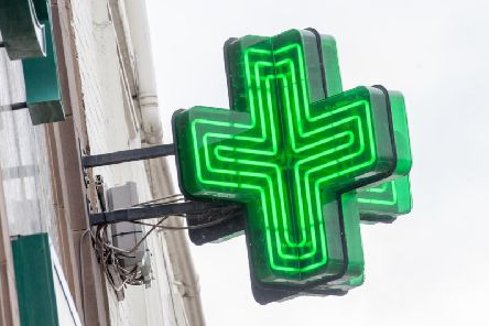 Many Derbyshire pharmacies will be closed on bank holiday Monday