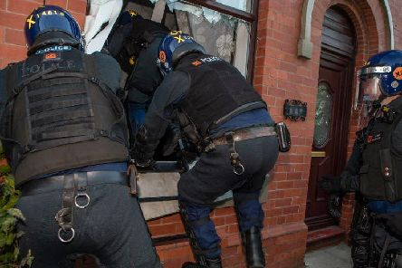 Pictures by Greater Manchester Police.