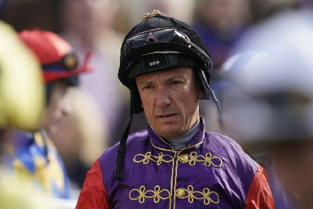 Frankie Dettori, sporting the colours of the Queen, is the top jockey at Royal Ascot. (PHOTO BY: Alan Crowhurst/Getty Images).