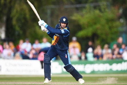 Billy Godleman in Vitality Blast action.'(Photo by Nathan Stirk/Getty Images)
