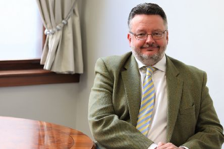 Derbyshire County Council leader Barry Lewis.