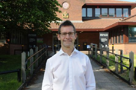 Andy Abrahams, executive mayor for Mansfield
