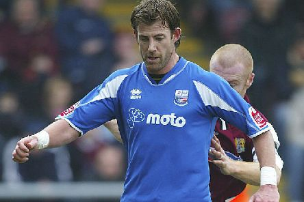 Drewe Broughton in his playing days for Rushden and Diamonds