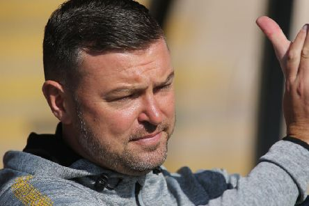 John Dempster at Port Vale on Saturday.