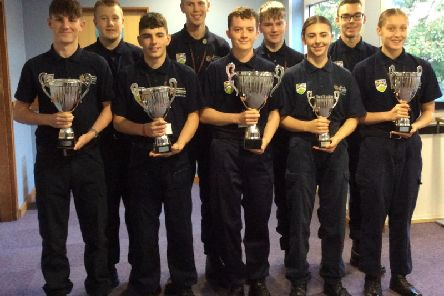 The uniformed services students