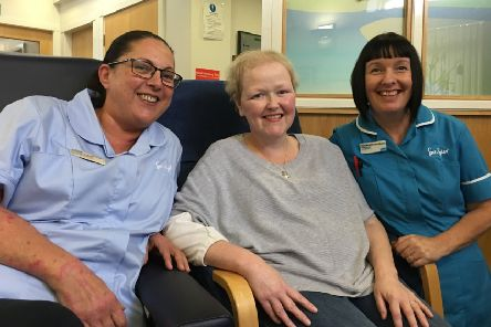 Hospice patient raises £5,000 to say thanks