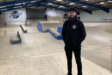 Jack Plowman managing director of sylum Academy for Extreme Sports in Huthwaite.