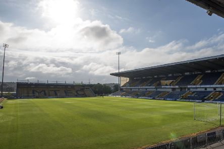 MANSFIELD, ENGLAND - OCTOBER 08: General view of the One Call Stadium before the Sky Bet League Two match between Mansfield Town and Notts County at One Call Stadium on October 8, 2016 in Mansfield, England. (Photo by Nathan Stirk/Getty Images)