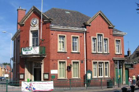 Warsop town hall.