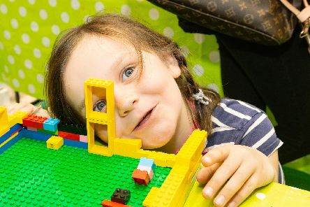 Jessica Townsend gets creative with Lego at Four Seasons Easter B Club