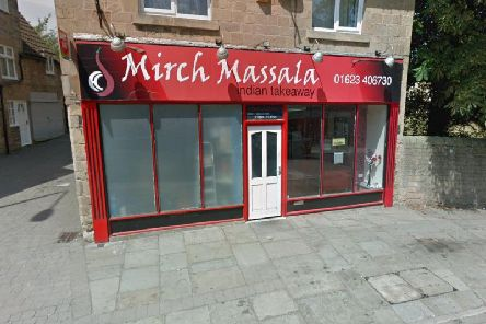 Mirch Massala, on Station Street, Mansfield Woodhouse.