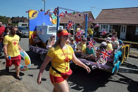 The carnival parade gets under way at last year's Glapwell Carnival. (PHOTO BY: Glenn Ashley)