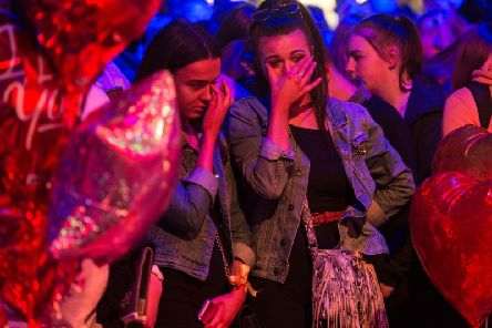 Tributes paid to victims in the aftermath of the Manchester Arena terrorist attack
